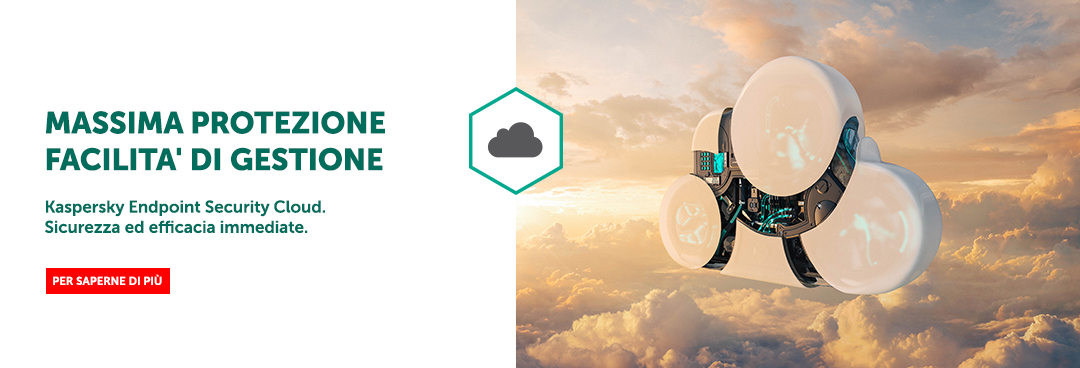 Banner Kaspersky Endpoint Security Cloud