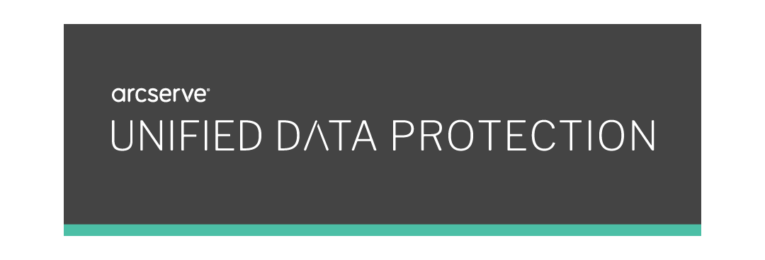 Banner Arcserve Unified Data Protection